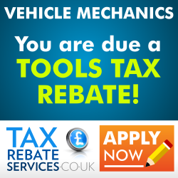 Are you due a Tools Tax Rebate?