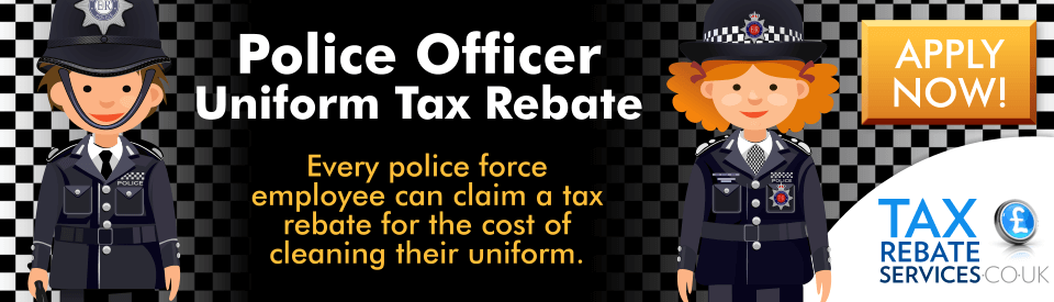 Claim your Police Officer tax rebate