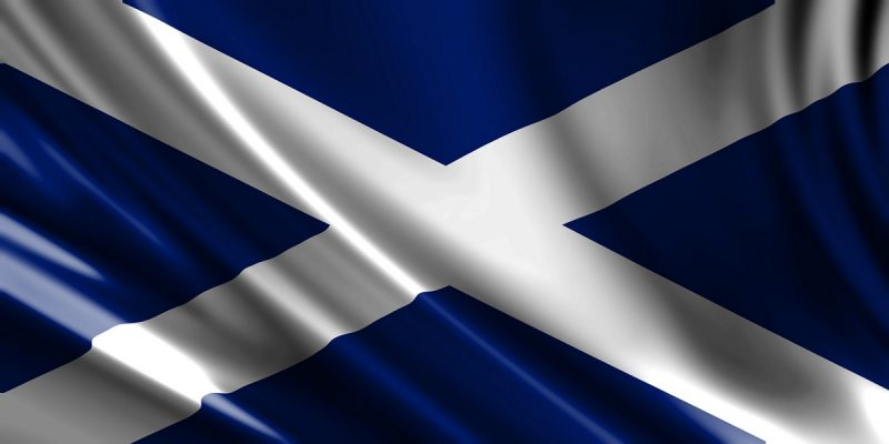 Scottish flag to identify that the text is about Scottish Income Tax rates