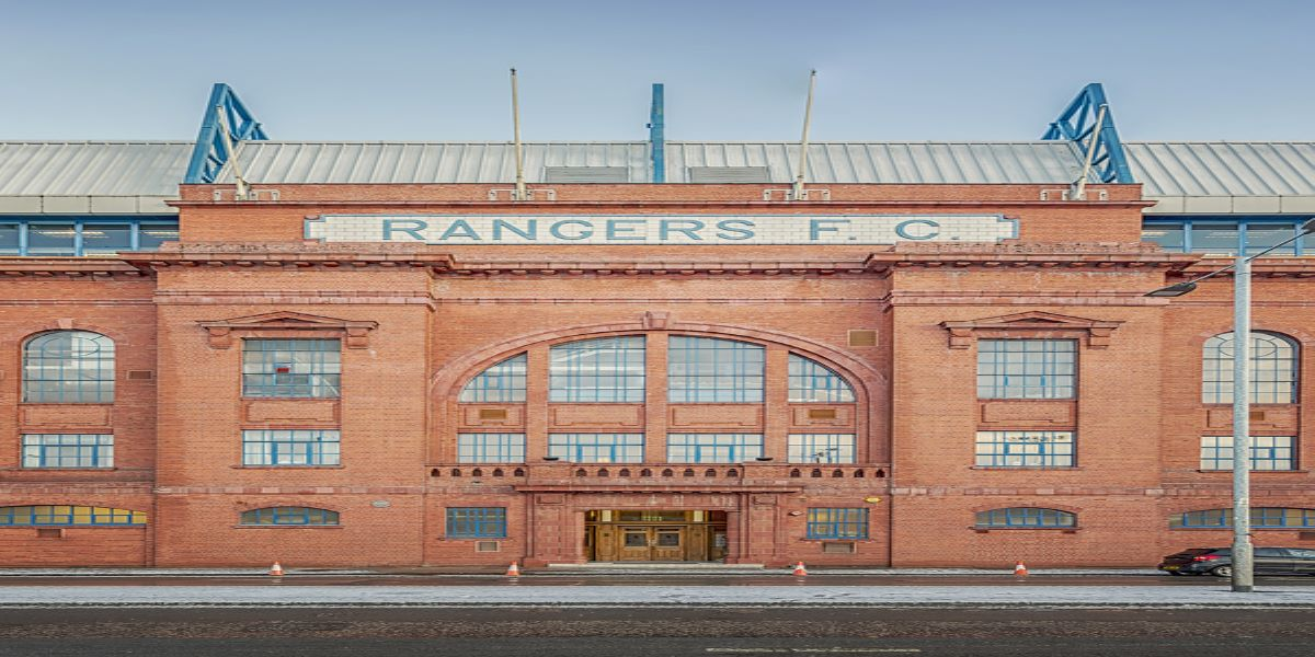 Ibrox Stadium in Glasgow, home of Rangers Football Club. The club have just had their penalty for tax avoidance substantially reduced by HMRC. Triggering questions about its initial accuracy.